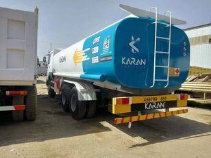 HOWO 6x4 Aluminium Compartments Fuel Tank Truck brandstoftruck