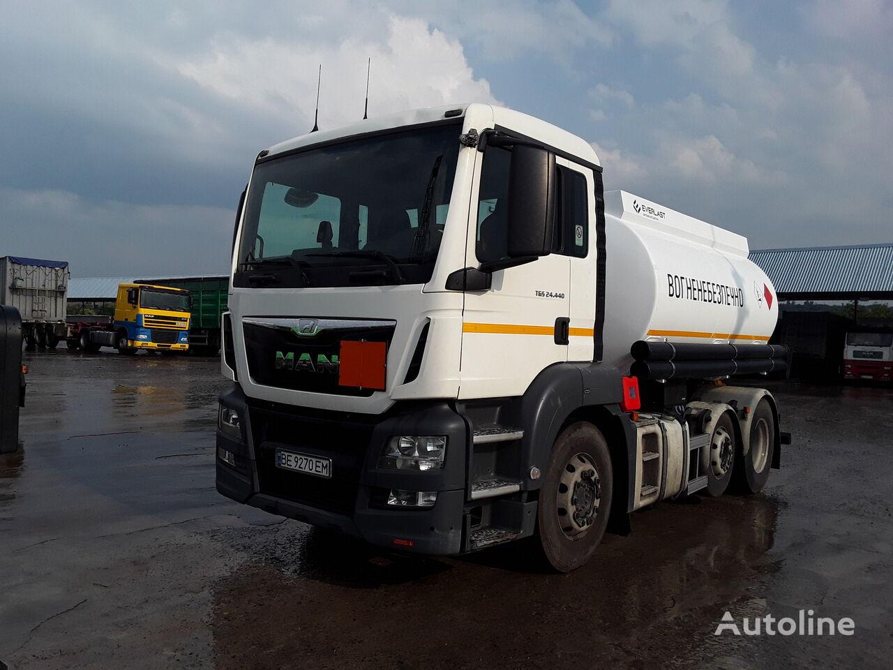 MAN TGS 24.440 brandstoftruck
