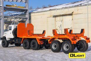 nieuw KRAZ 6322-05 buizentransporter
