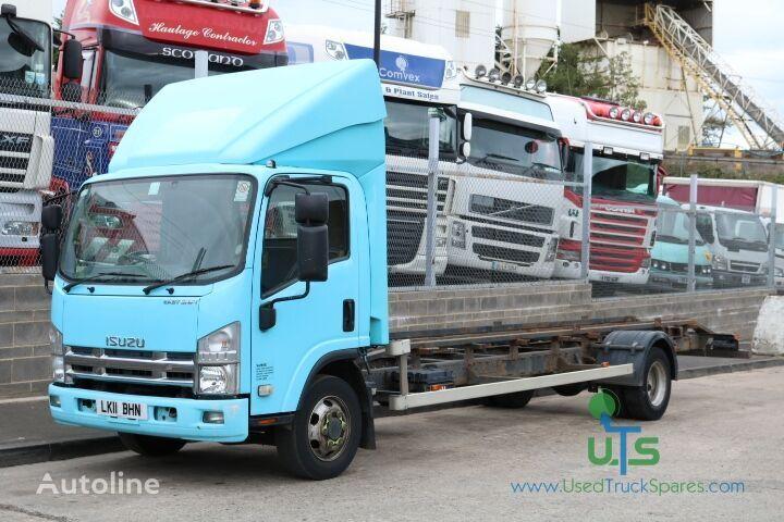 ISUZU N75 190  chassis vrachtwagen voor onderdelen