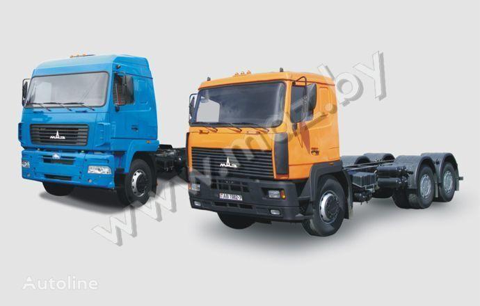 MAZ 6312 chassis vrachtwagen