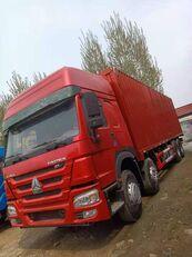HOWO 8X4 Box Truck Box Van containertransporter