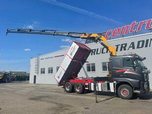 VOLVO FH 520 6x4 Crane EFFER 305 / Kipper containertransporter