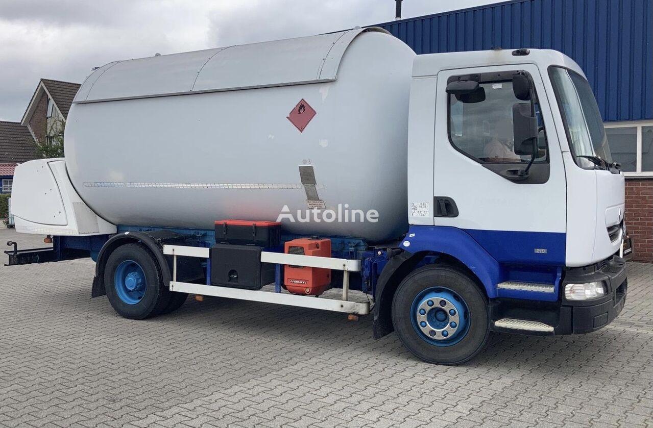 RENAULT MIDLUM 200 LPG/GAS/GAZ/GPL/PROPAN-BUTAN 27BAR PUMP+METER=17.000L gas tank truck