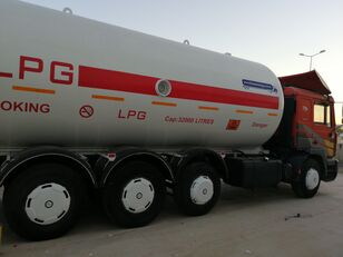 MAN TOP SYSTEM NEW BUILDED 32000L And 24000L LPG Bobtail LAST ONE IN gas tank truck