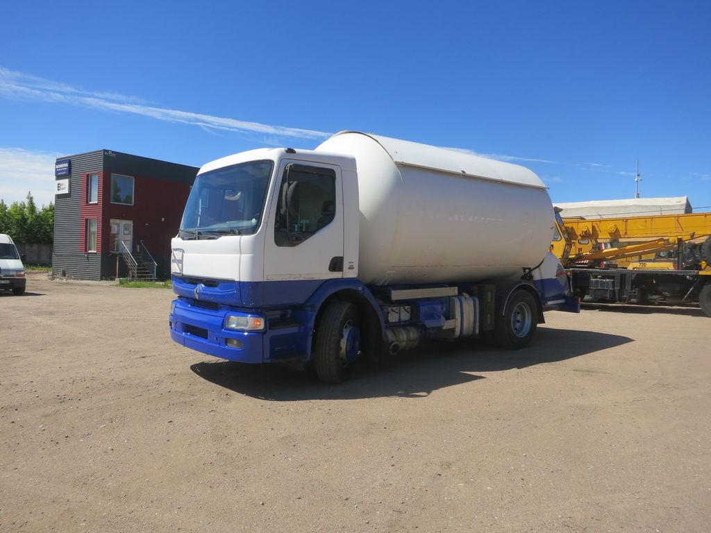 RENAULT Premium 210 gas tank truck