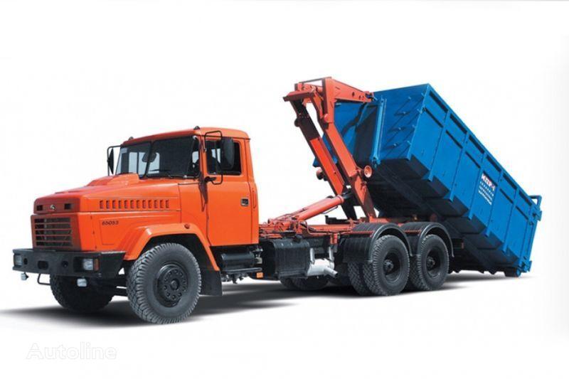 KRAZ 65053 MPR-1  haakarm vrachtwagen