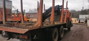 KAMAZ Манипулятор houtvrachtwagen
