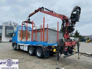 MAN TGS 26.480  houtvrachtwagen