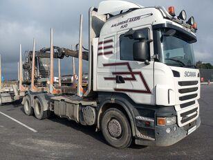 SCANIA R560 houtvrachtwagen