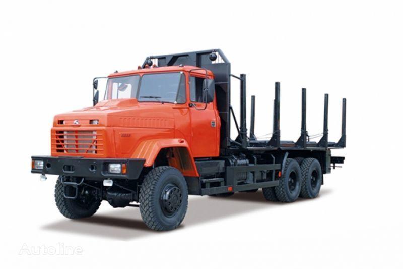 KRAZ 6233M6  houtvrachtwagen