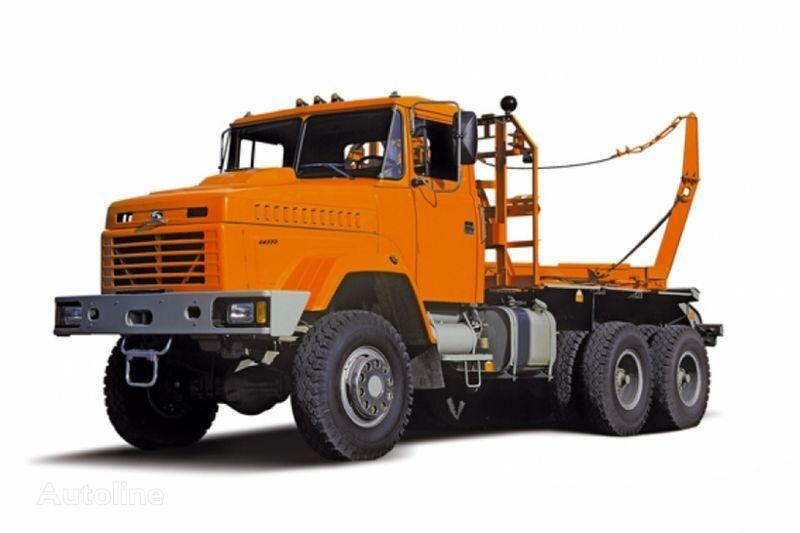 KRAZ 64372 tip 2  houtvrachtwagen