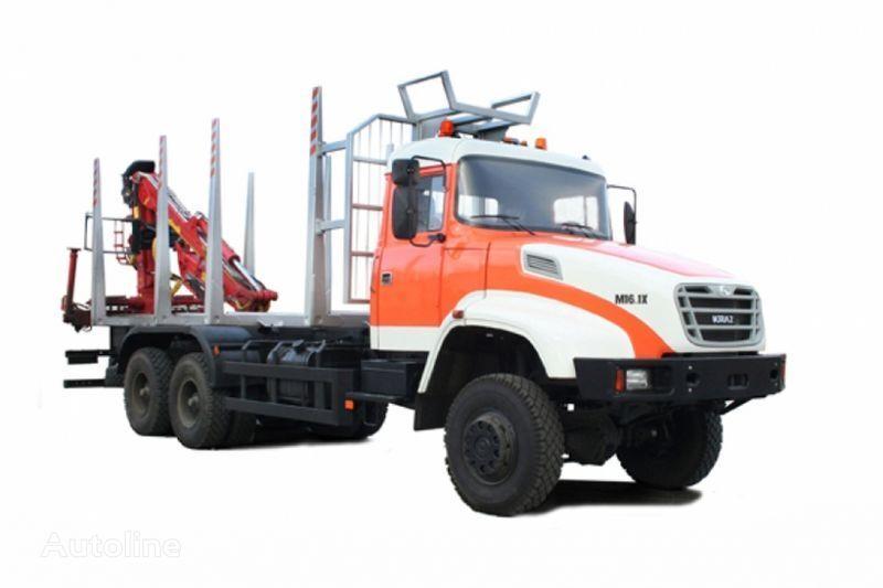 KRAZ M16.1H houtvrachtwagen