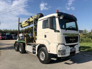 MAN TGS 540KM 6x4  houtvrachtwagen