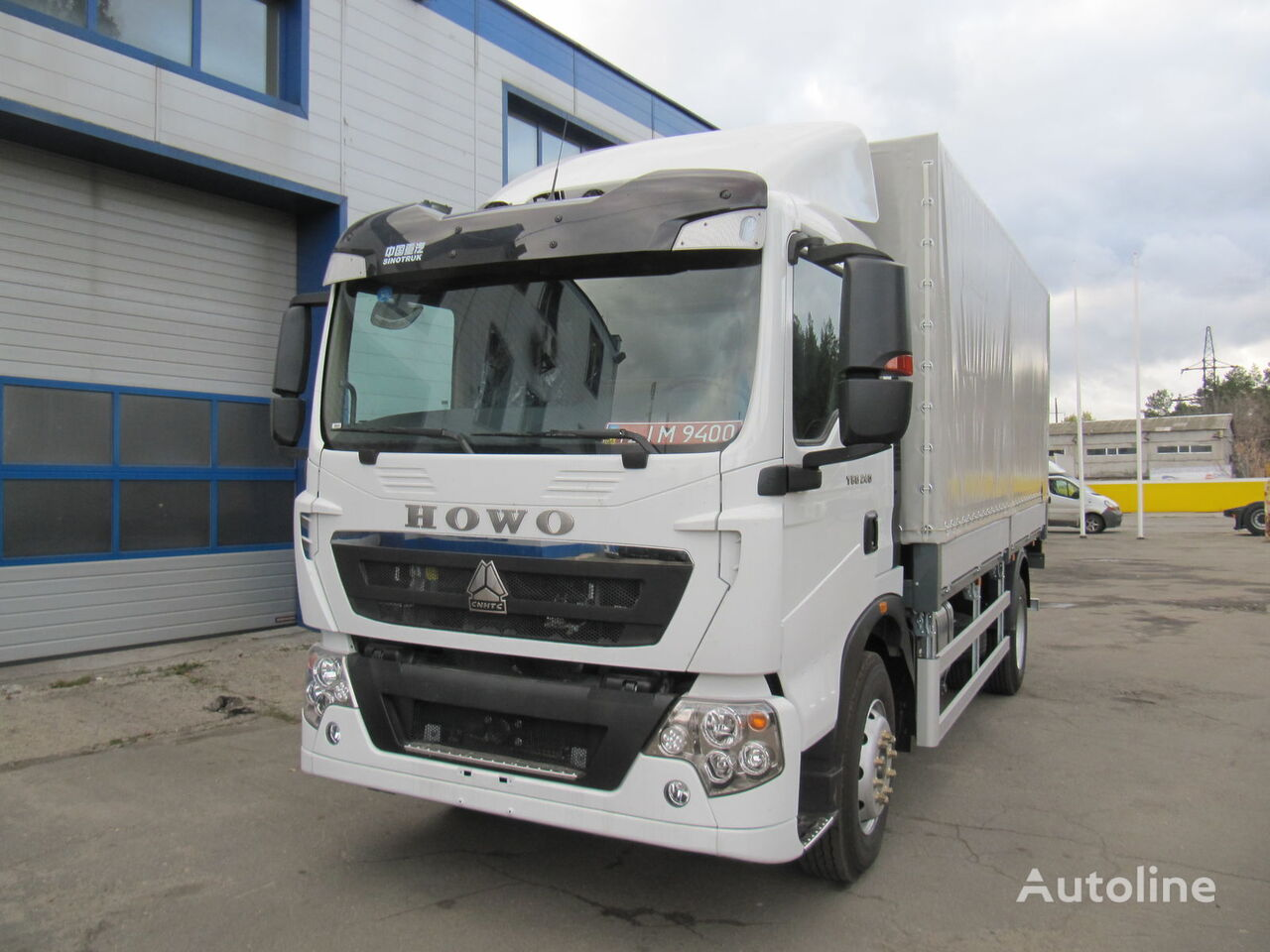 HOWO T5G huifzeilen vrachtwagen