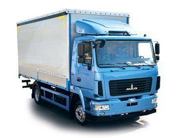 nieuw MAZ 4381N2 huifzeilen vrachtwagen