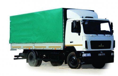 MAZ 4381N2-522-000 (-522-030) huifzeilen vrachtwagen