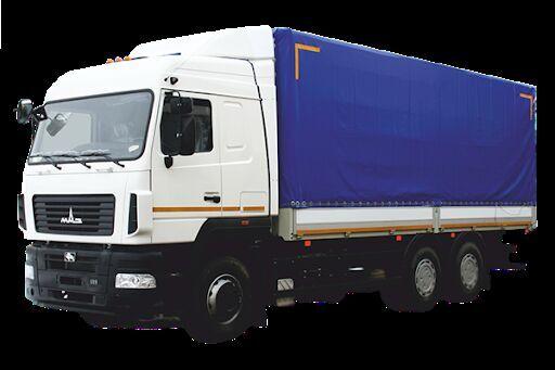 nieuw MAZ 6312E8 huifzeilen vrachtwagen