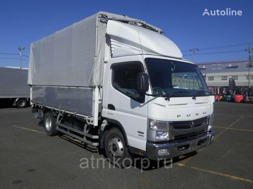 MITSUBISHI Canter FEB80 huifzeilen vrachtwagen