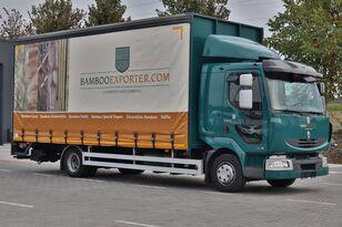 RENAULT Midlum 220dxi в Лизинг huifzeilen vrachtwagen
