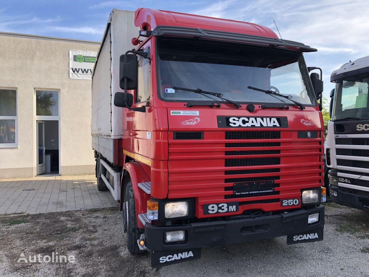 SCANIA 93 M 250  huifzeilen vrachtwagen