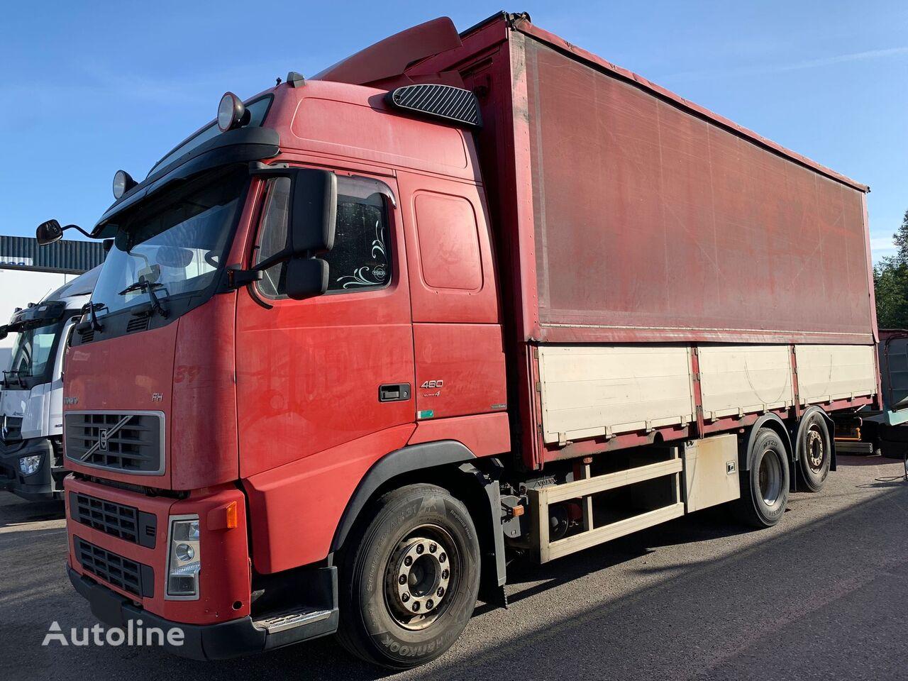 VOLVO FH13 480HP Hidraulic roof huifzeilen vrachtwagen