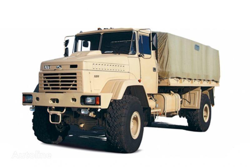 KRAZ 5233VE huifzeilen vrachtwagen