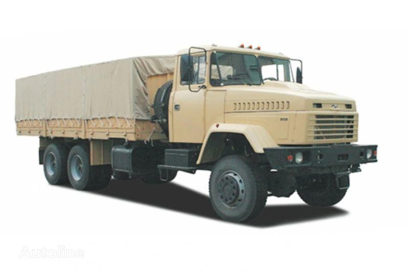 KRAZ 6135V6 huifzeilen vrachtwagen