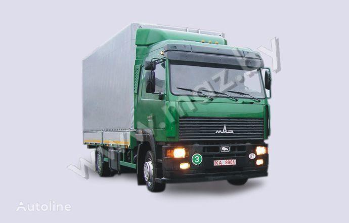 MAZ 5340A8 huifzeilen vrachtwagen