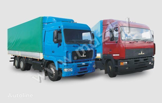 MAZ 6312 (A5, A8, A9) huifzeilen vrachtwagen