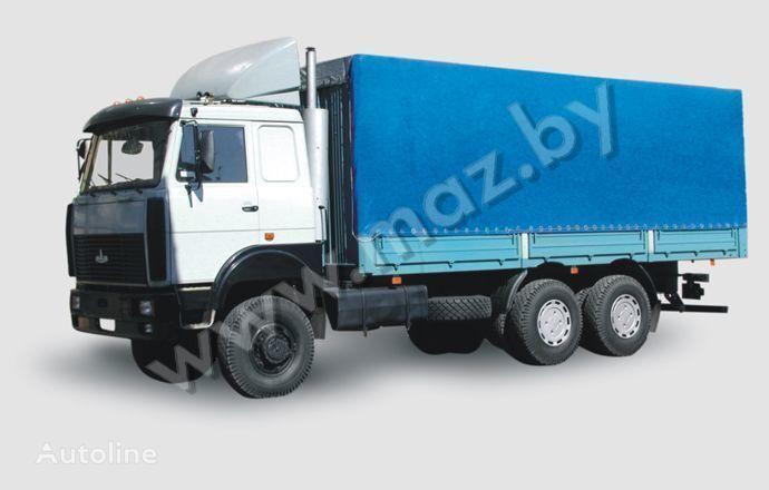 MAZ 6317 (05, 08) Polnoprivodnyy huifzeilen vrachtwagen