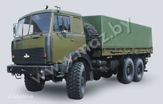 MAZ 6317 (08, 09) Polnoprivodnyy huifzeilen vrachtwagen