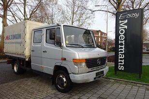 MERCEDES-BENZ 814D Double Cabin huifzeilen vrachtwagen