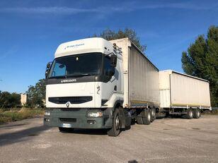 RENAULT PREMIUM  420 DCI + biga Omar huifzeilen vrachtwagen