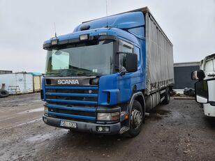 SCANIA 94D260 Exportamos a Paraguay huifzeilen vrachtwagen