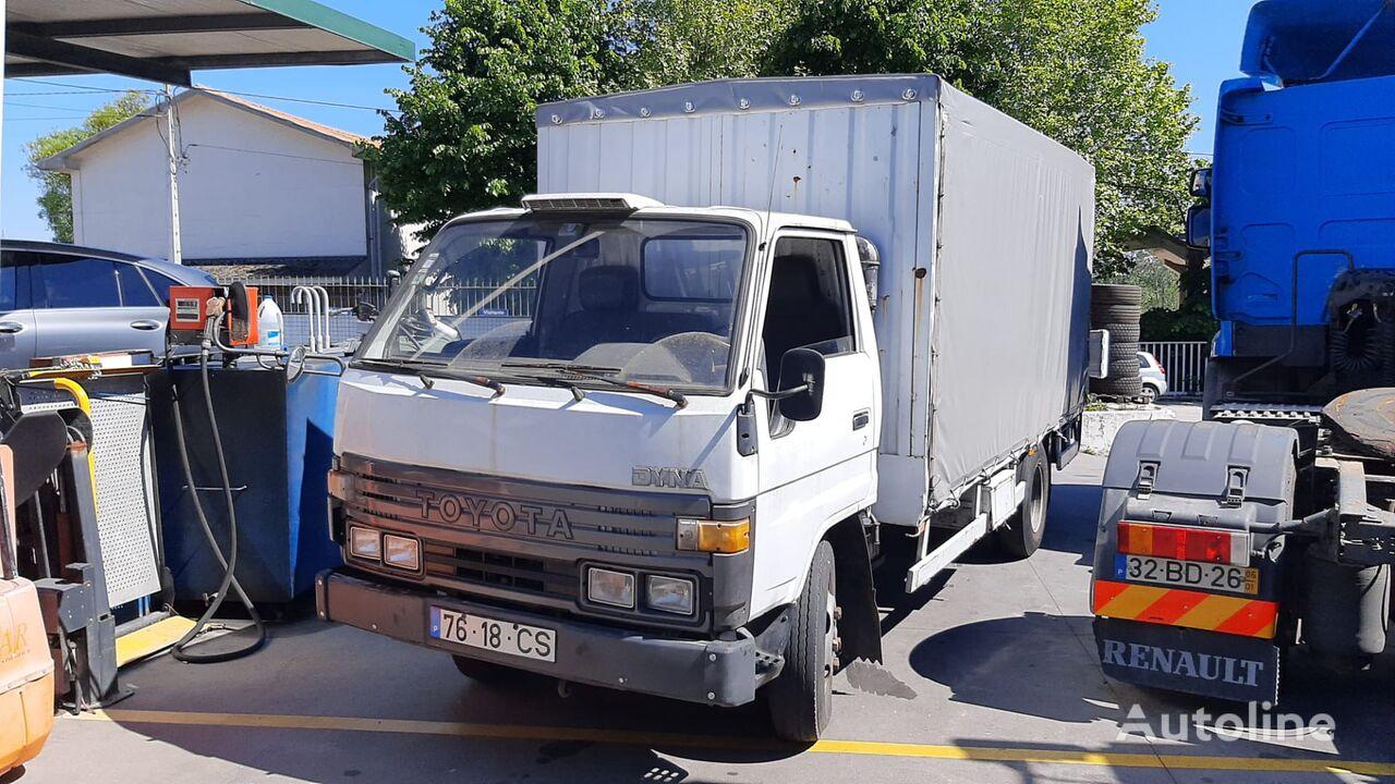 TOYOTA Dyna 150 huifzeilen vrachtwagen