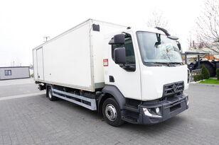 RENAULT D12 , E6 , 4x2 , Box 18 EPAL side door  , tail lift Dhollandia , isothermische vrachtwagen