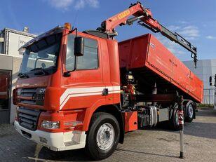 DAF CF 85 430 + EFFER 165 - 3S CRANE + REMOTE CONTROL + 6X2 + CAMERA kipper vrachtwagen