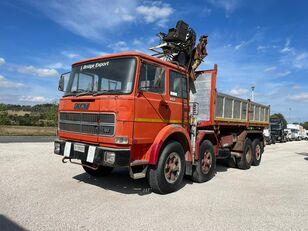 FIAT IVECO 691 N ribaltabile gru kipper vrachtwagen