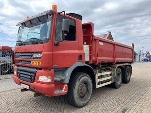 GINAF X 3335-S X 3335-S 6x6 kipper Manual Gearbox kipper vrachtwagen