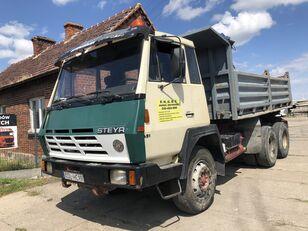 STEYR 1491 Kipper Full Stell  kipper vrachtwagen