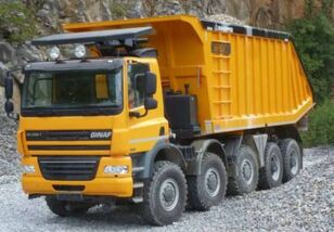 GINAF HD5380T kipper vrachtwagen