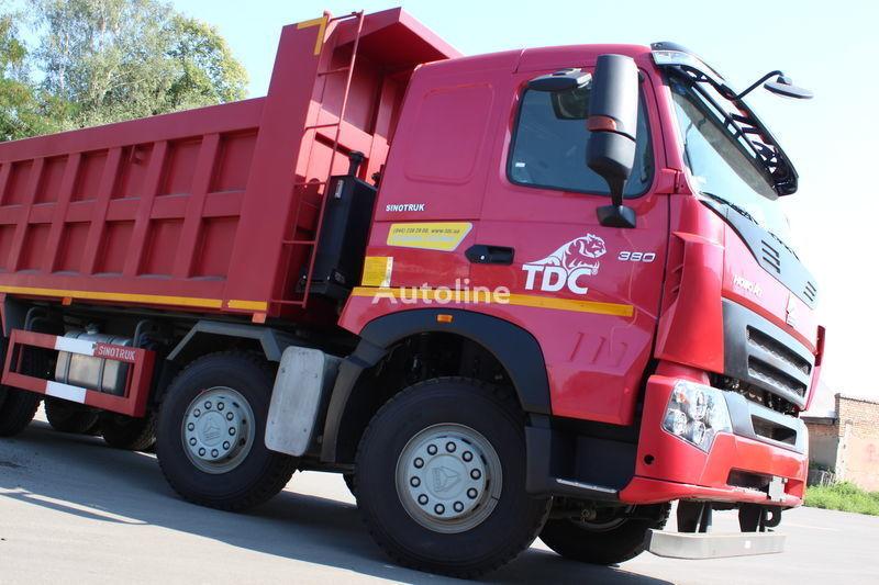 nieuw HOWO A7 kipper vrachtwagen