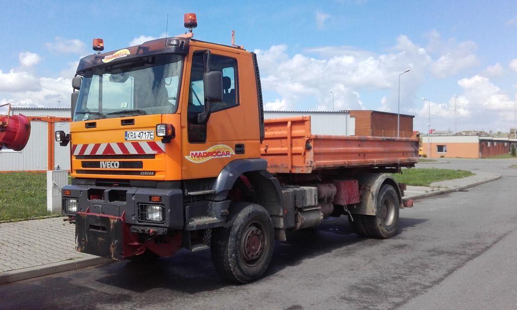 IVECO Trakker  kipper vrachtwagen