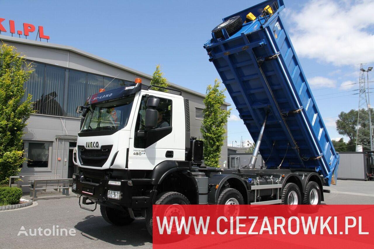 IVECO Trakker 450 , E6 , 8x8 , 3-side tipper , retarder  kipper vrachtwagen
