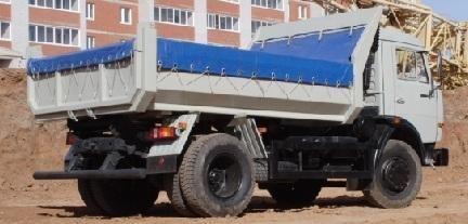 nieuw KAMAZ 43255 kipper vrachtwagen