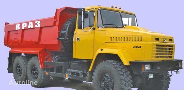 nieuw KRAZ 6133C6  kipper vrachtwagen