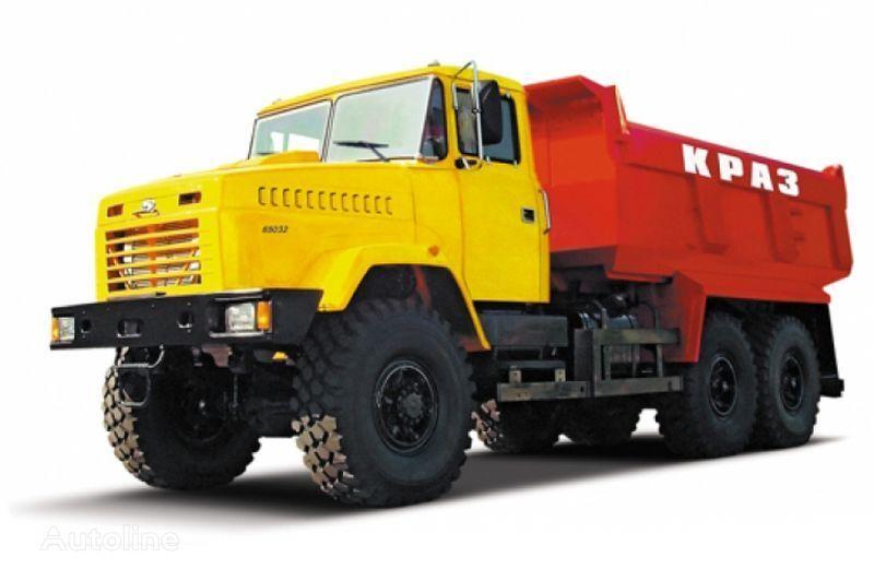 KRAZ 65032 tip 4  kipper vrachtwagen