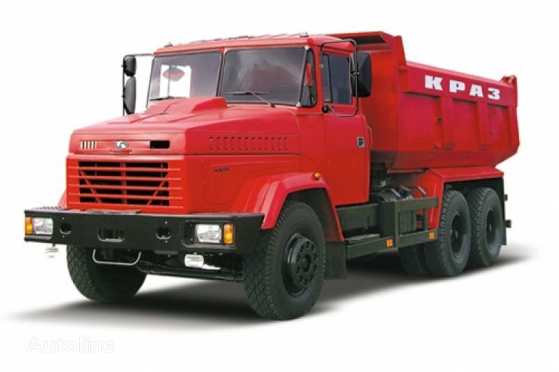 KRAZ 65055 tip 2 kipper vrachtwagen
