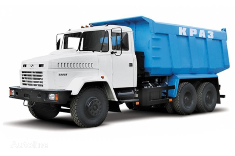 KRAZ 65055 tip 3  kipper vrachtwagen